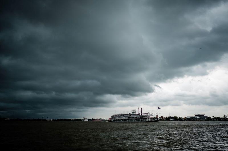 River storm